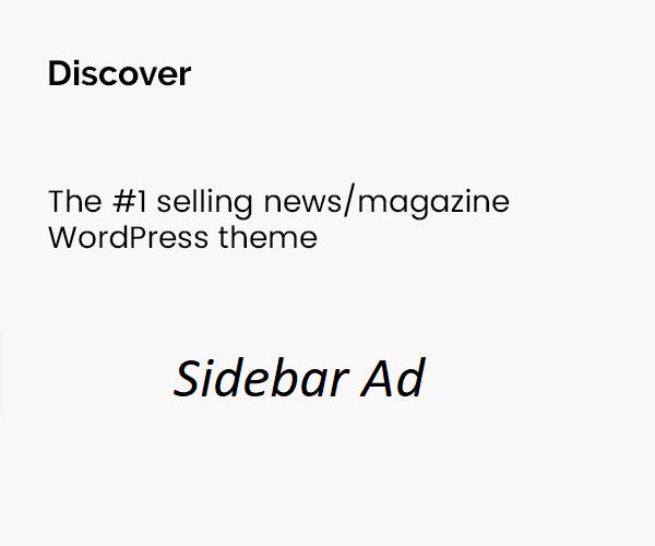 My sidebar ads